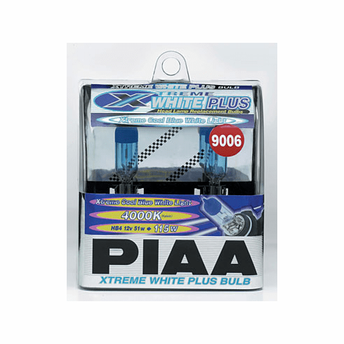PIAA 9006 (HB4) Xtreme White Plus Twin Pack Bulbs Part # 19616