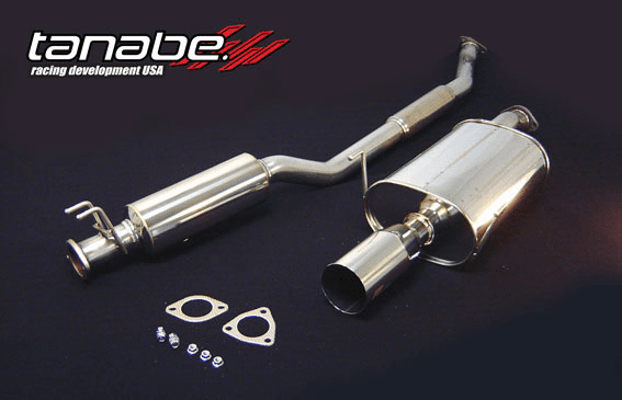 Tanabe Super Medalion Hyper Exhaust System Part # T4046Z for the 2002 - 2006 RSX Type S