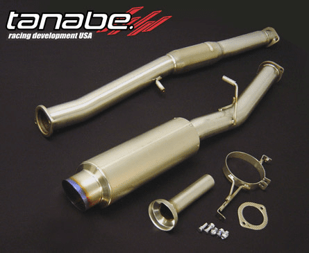 Tanabe Ultra Medalion Exhaust System Part # T60046 for the 2002 - 2006 RSX Type S