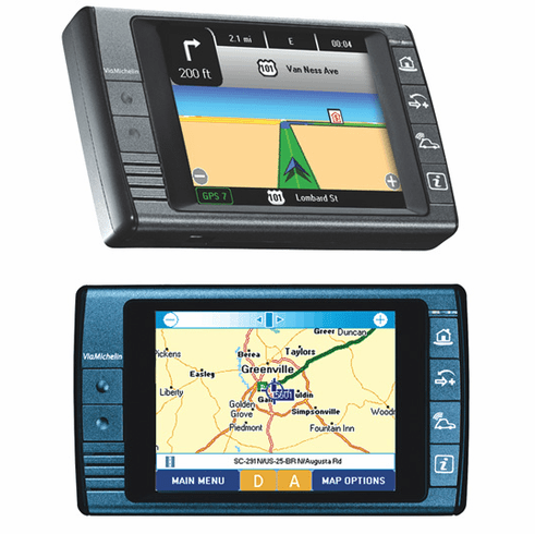 Via Michelin X930 Portable GPS System