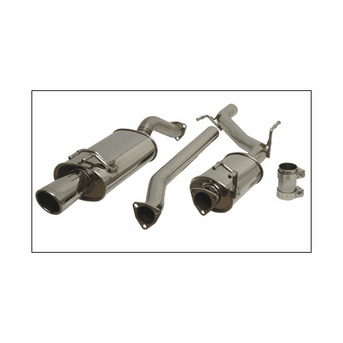 Vibrant Performance Streetpower Cat-Back Exhaust System Part #1626 for the 2006 - 2011 Civic Si Coupe