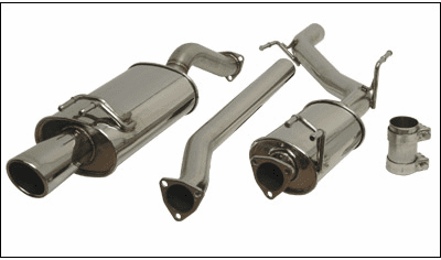 Vibrant Performance Streetpower Exhaust System 1626 Civic Si Coupe