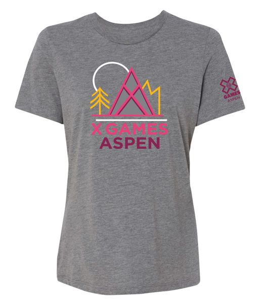 "X Games Aspen 2019 | ""Agnes"" Ladies Relaxed Fit Short Sleeve T"