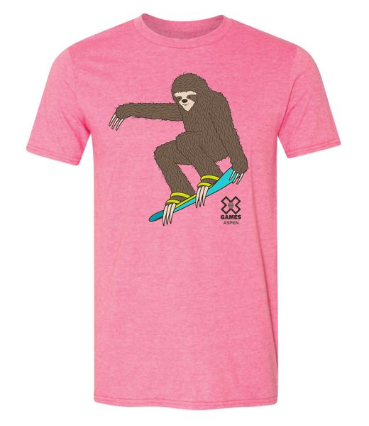 "X Games Aspen 2019 | ""Slothboarder"" Short Sleeve T"