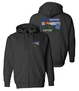 "X Games Aspen 2019 | ""Colorado Dawn"" Full Zip Hoody"