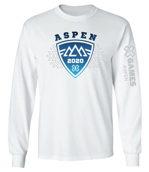 "X Games Aspen 2020 | ""The Shield"" Long Sleeve T"