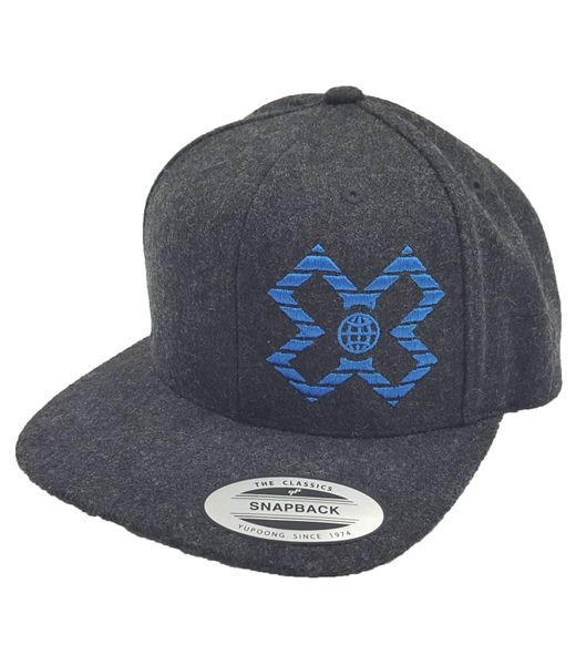 "X GAMES ASPEN 2019 | """" WOOL FLAT BILL"" HAT"