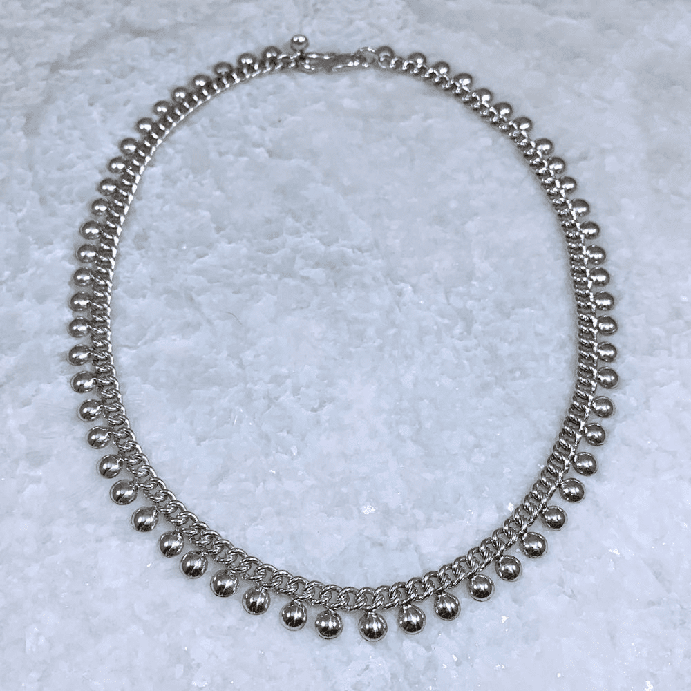Half Ball Necklace