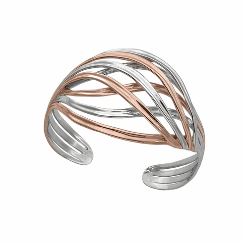 Jorge Revilla Rose Gold Rivers Cuff