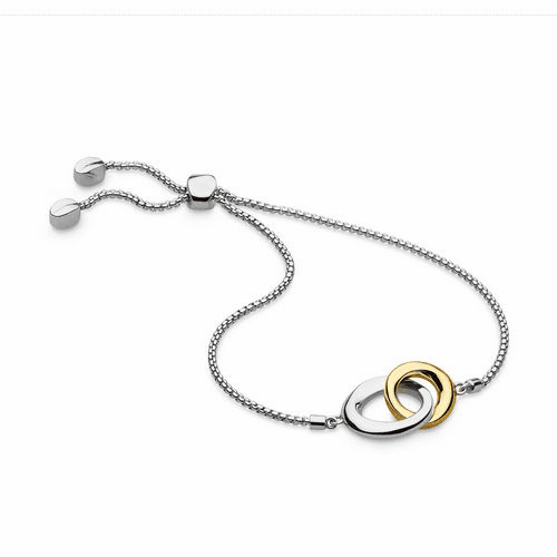 Kit Heath Bevel Cirque Gold Plate Adjustable Bracelet