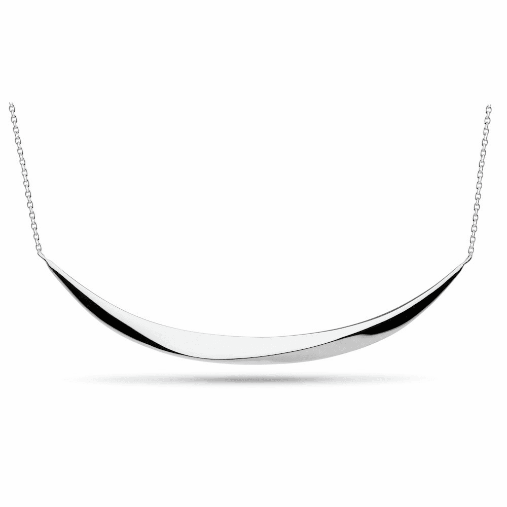 Kit Heath Bevel Curve Wide Necklace