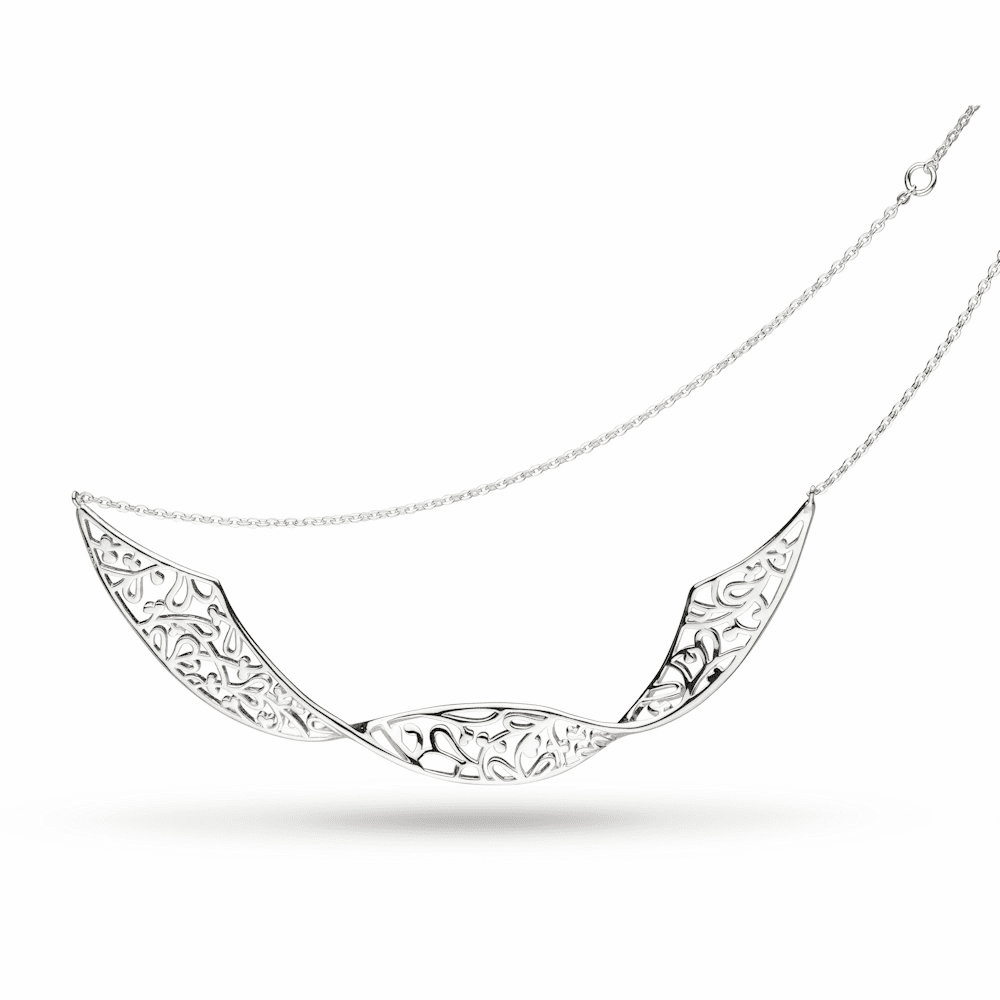 Kit Heath Flourish Double Twist Necklace
