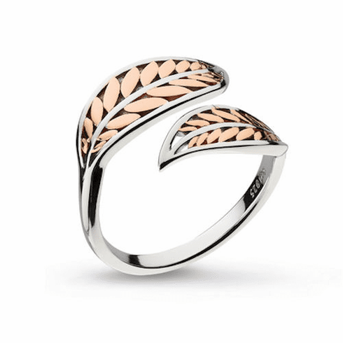 Kit Heath Rose Gold Eden Leaf Ring SOLD