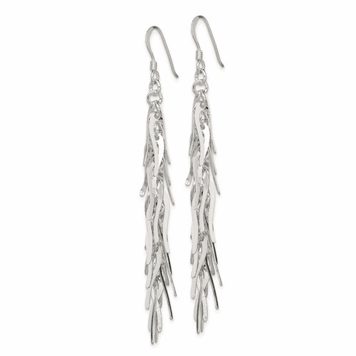 Long Cluster Dangles Earrings