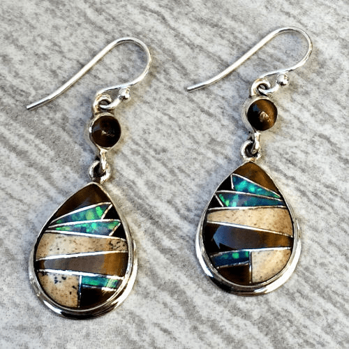 Multistone Earrings
