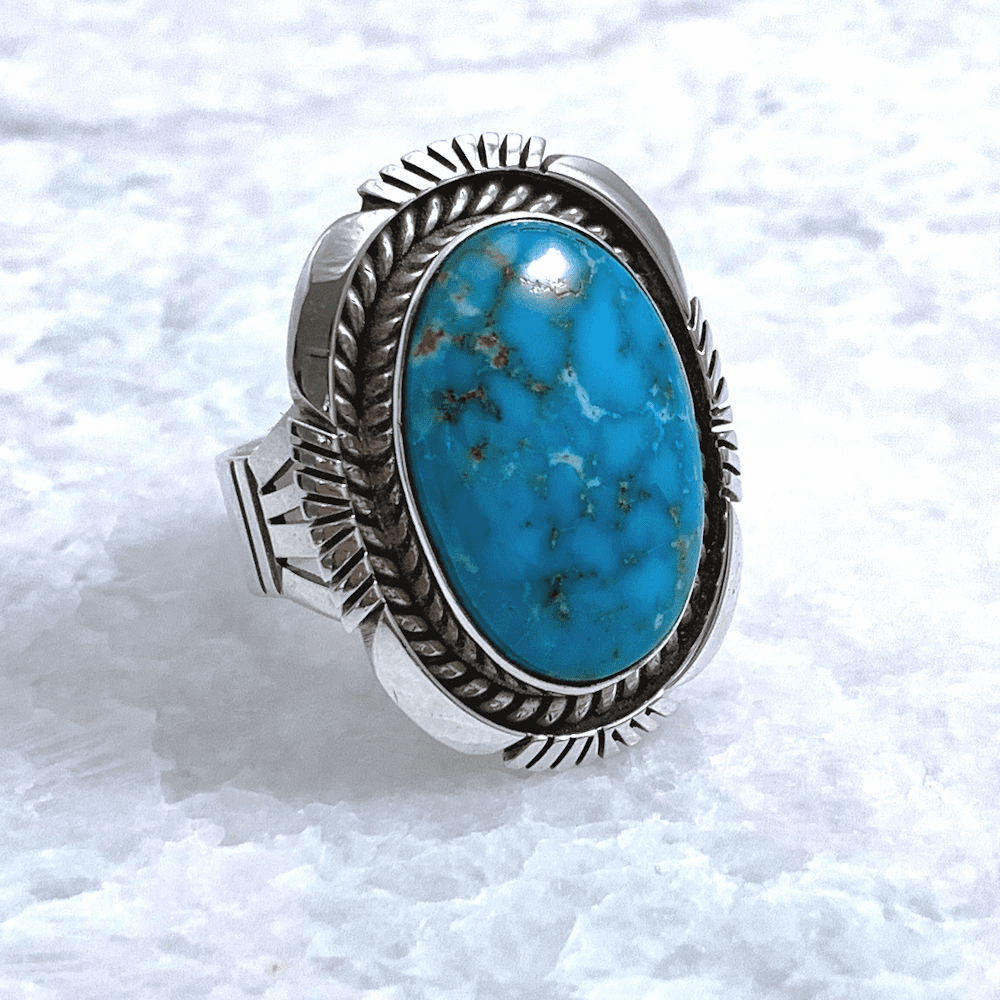 Navajo Turquoise Ring