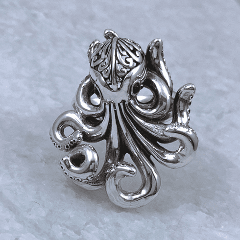 Octopus Adjustable Ring