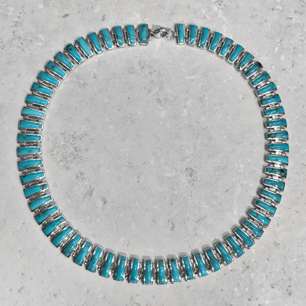 Turquoise Inlay Necklace