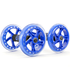 Chest and Ab Wheel Rollers with Independent Ball Bearing Wheels