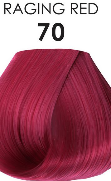 Adore Semi-Permanent Hair Color 70 RAGING RED 4 oz