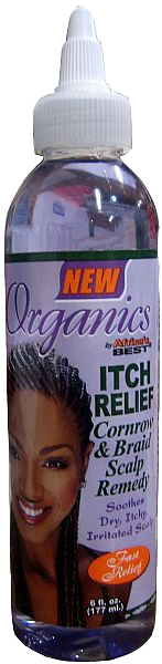 Africa's Best Organics Itch Relief Cornrow & Braid Scalp Remedy - 6 oz