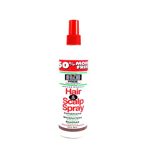 African Pride HAIR AND SCALP SPRAY 12 OZ