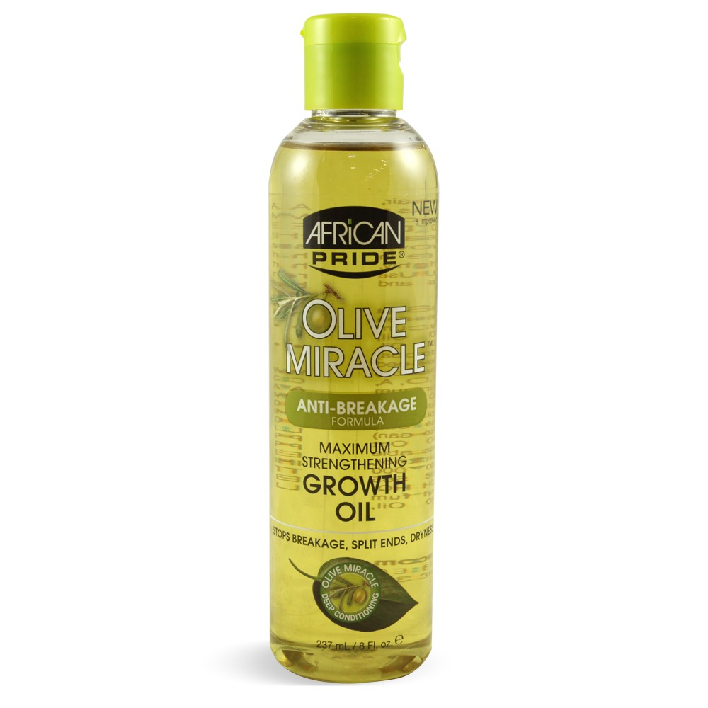 African Pride Olive Miracle Growth Oil 8 oz