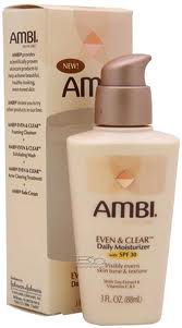 AMBI EVEN AND CLEAR DAILY MOISTURIZER 3OZ