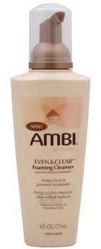 AMBI EVEN AND CLEAR FOAMING CLEANSER 6OZ