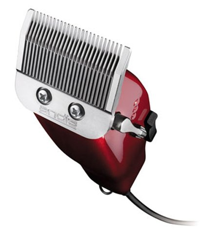 Andis Master 90th Anniversary Hair Clipper Limited Edition Candy Red 01922 Improved Fade