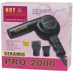 Annie Hot and Hotter Ceramic Pro 2000 Hair Dryer 5855