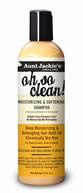 Aunt Jackie's Curls and Coils Oh So Clean! Moisturizing And Softening Shampoo 12 oz