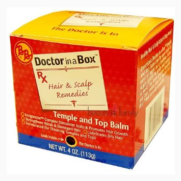 BB Doctor in a Box Temple And Top Balm 4 oz