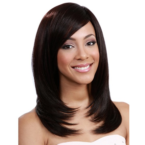 Bobbi Boss Maxxim 100% Human Hair Blend Wig MB200 ASIA