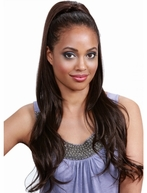 Bobbi Boss Drawstring Ponytail HONEY BABY 26""