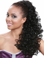 Bobbi Boss Drawstring Ponytail Sweet heart 26""