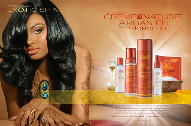 CREME OF NATURE Argan Oil Intensive Conditioning Treatment 12 OZ