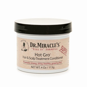 DR MIRACLE HOT GRO HAIR & SCALP TREATMENT CONDITIONER 4OZ