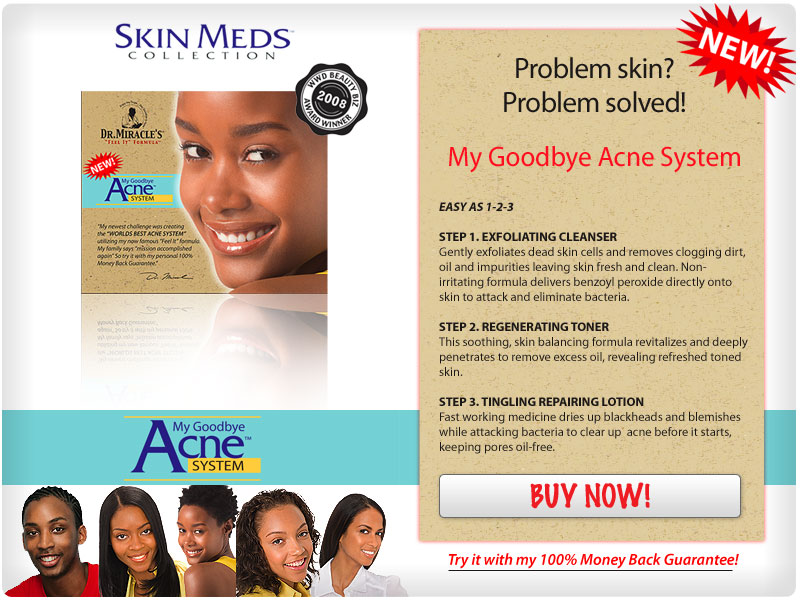 DR MIRACLE My Goodbye Acne System Kit