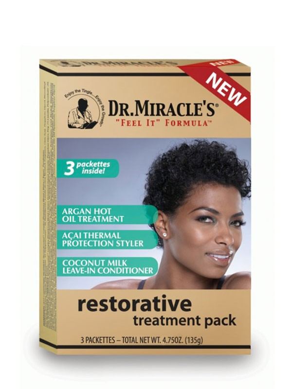 Dr. Miracle's Restorative Treatment Pack - 3 Pack