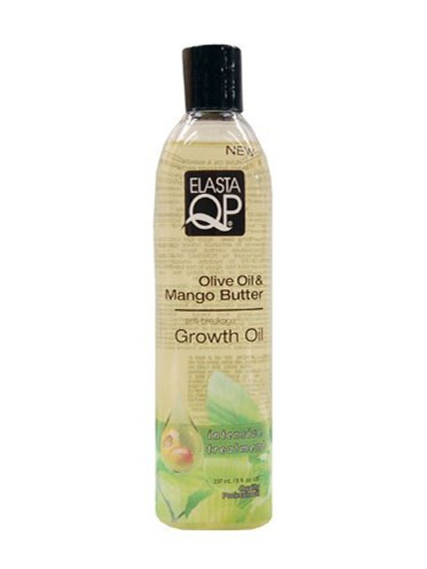 Elasta QP Olive Oil And Mango Butter Growth Oil 8oz