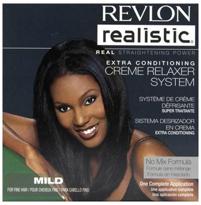 Revlon Realistic Extra Conditioning Creme Relaxer [super] Kit
