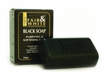 Fair and White Black Soap Purifying and Softening Soap