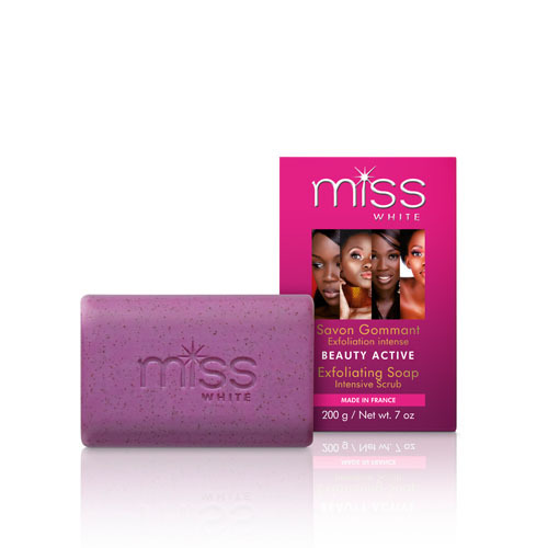 Fair and White MISS WHITE Beauty Active Exfoliating Soap 7 oz