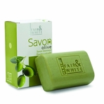 FAIR & WHITE SAVON OLIVE OIL EXFOLIATING SOAP 7 OZ