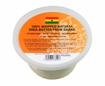 Ghana Natural Shea Butter Whipped -White 10.5 oz