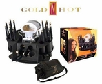 Gold N Hot Full Set Curling Irons Stove Combo GH5250