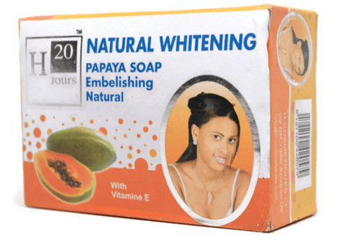 H20 Jours Natural Brightening Bleaching Papaya Soap