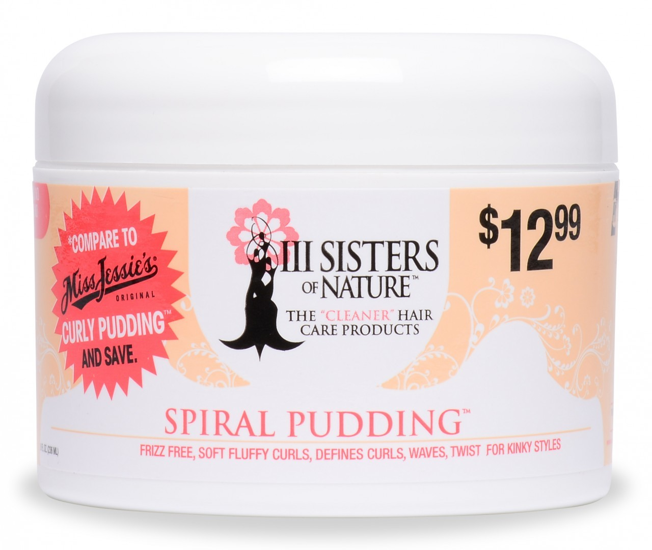 III Sisters of Nature Spiral Pudding 8 oz
