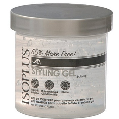 ISOPLUS STYLING GEL CLEAR 6 oz